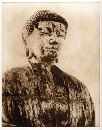 Buddha Sepia Etching