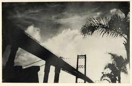 Vincent Thomas Bridge Etching